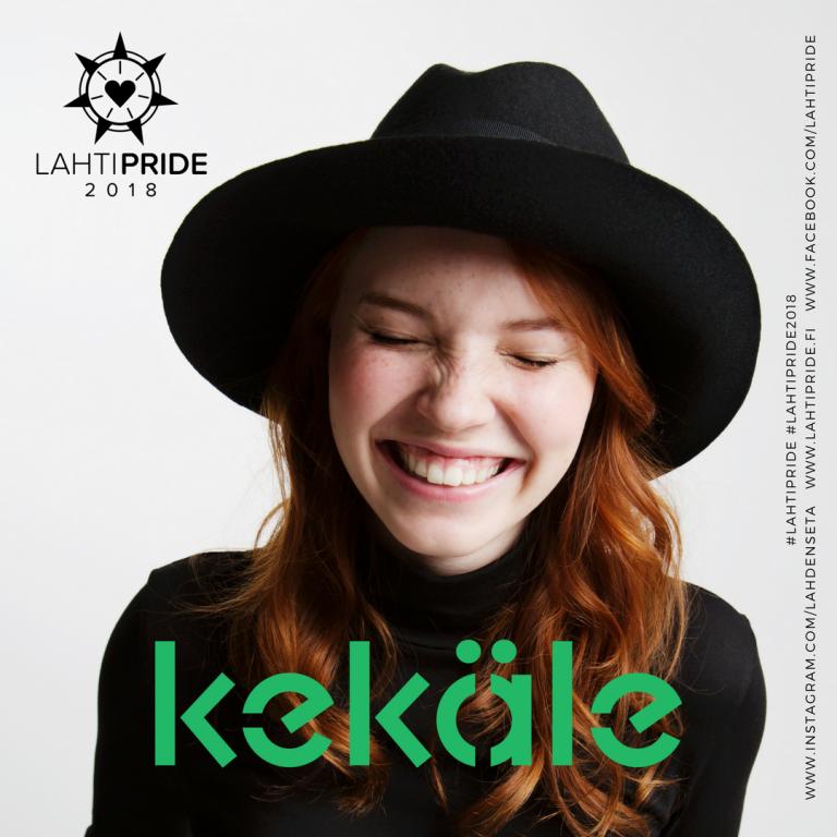 Kekäle Lahti Pride 2018