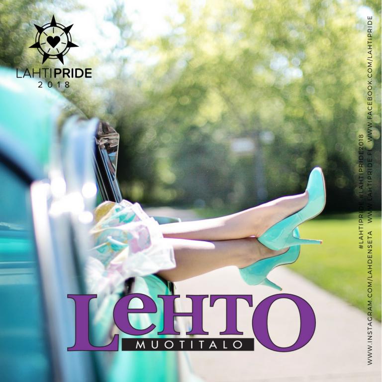 Lehto muotitalo Lahti Pride 2018
