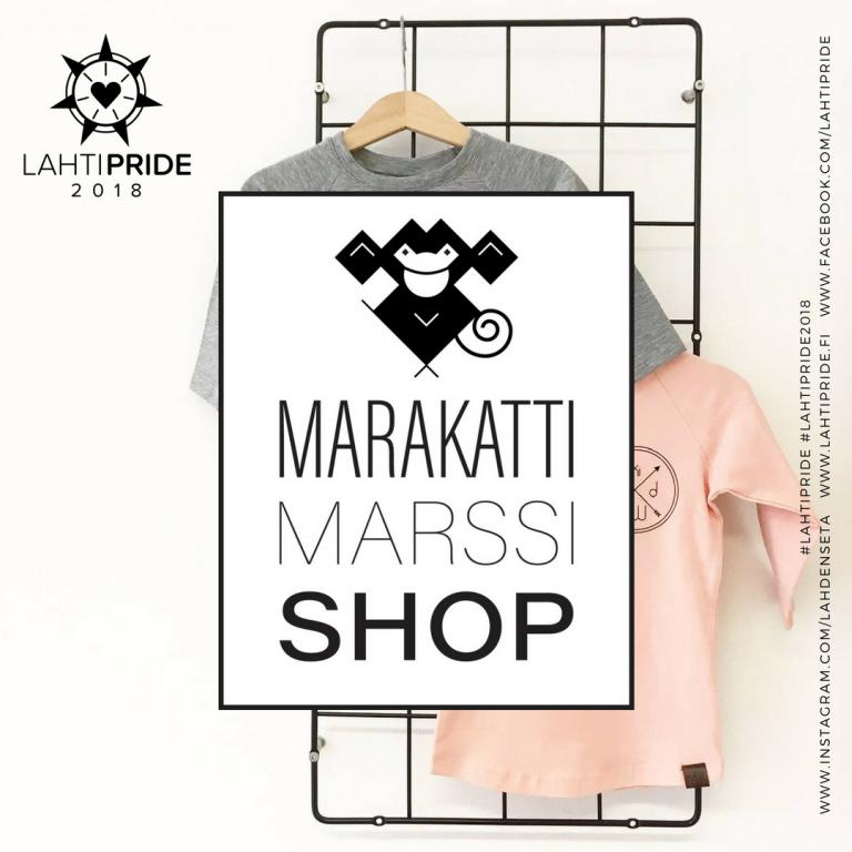 Marakattimarssi Lahti Pride 2018