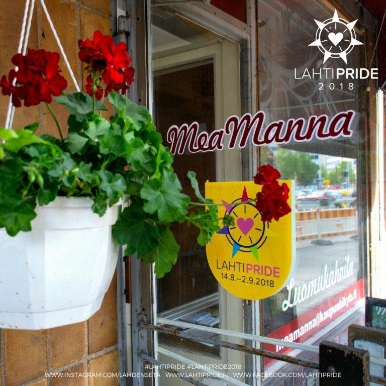Mea Manna Lahti Pride 2018